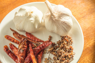 Thai spice and herbs