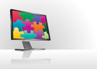 puzzle monitor