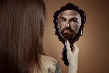 mirror ladyman