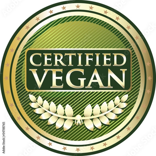 Certified Vegan Gold Medal