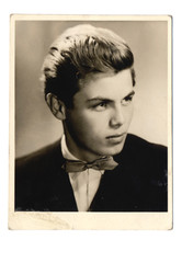 portrait of an young man - circa 1960