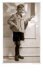 an young boy - circa 1940