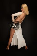 beautiful blond dancer