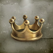 Gold crown old style