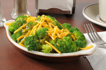 Broccoli and cheese