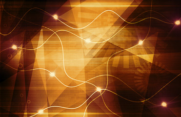 abstract technology waves background texture