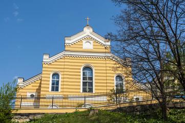 classic Protestant cathedral in Kiev