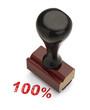 100 Percent Stamper
