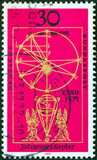 Johannes Kepler astronomical calculus (Germany 1971) poster