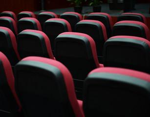 Empty hall for presentation