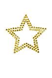 Star made of rhinestones poster