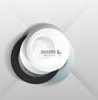 Abstract paper circles design