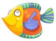 A happy fish