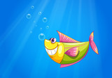 A fish in the sea