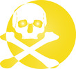Totenkopf Logo Skull Icon