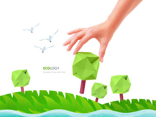 Green tree ecology