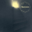 stairway to success as business concept