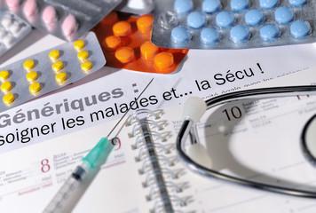 dépenses de santé,médicaments génériques,économies