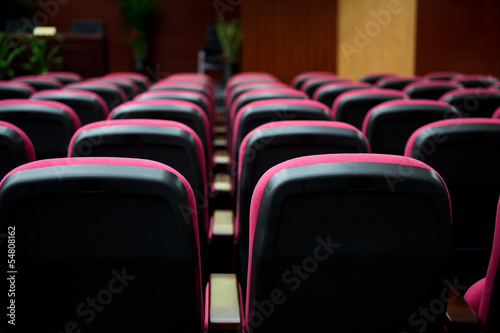 Empty hall for presentation