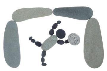 Symbol Ball gehalten