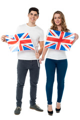 We are proud British supporters