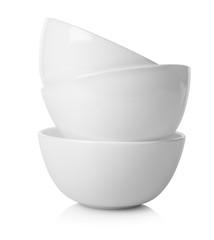White round saucers