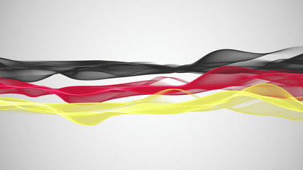 fantastic german color animation for sport events - loop HD