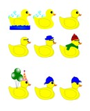 rubber duck set