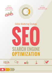 SEO Online Marketing Strategy Design