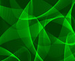 Abstract green 3d background