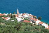 Mimice bei Omis nahe Brela an der Makarska Riviera poster