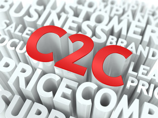 C2C. The Wordcloud Concept.