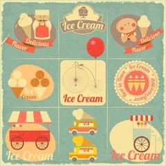Ice Cream Retro Card