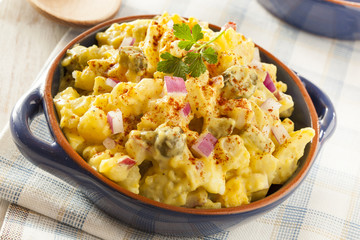 Homemade Yellow Potato Salad