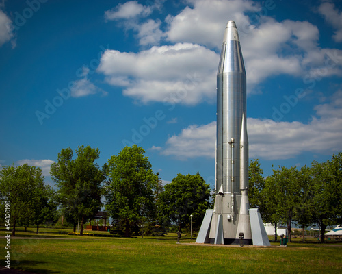 Long Range Atlas Rocket