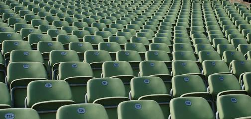 Zuschauerreihen