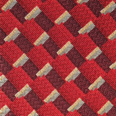 seamless red fabric pattern