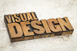 visual design in wood type