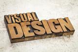 visual design in wood type
