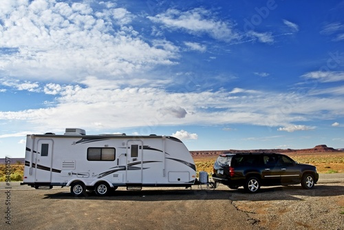 RV Trailer Journey - 54826157