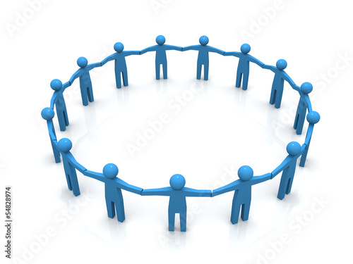 Circle of people