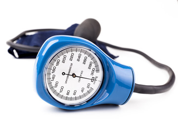 Blue Sphygmomanometer