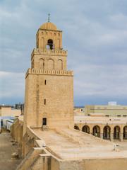 mosque in Kairouan, Tunisia