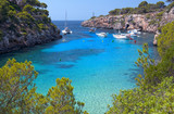 Fototapety The Beautiful Beach of Cala Pi in Mallorca, Spain
