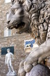 Florence, one of the Lions of Signoria Square.