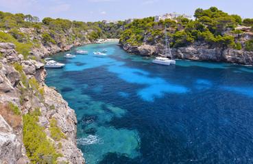 The Beautiful Beach of Cala Pi in Mallorca, Spain