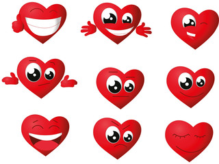 Hearth emoticon