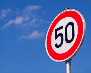 Geschlossene Ortschaften - Höchstgeschwindigkeit 50 km/h