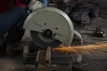 hand cutting steel