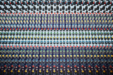 Mixing Audio Console